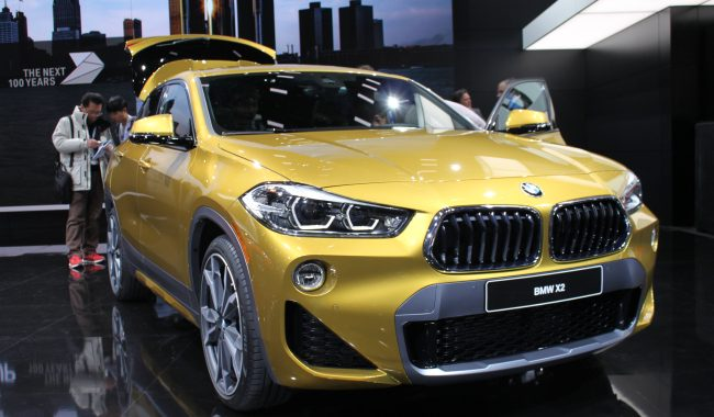 2018-19 BMW introduces X2 SUV
