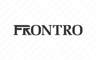 FRONTRO (FRONTRO.com) Price 3000 USD only – Brandroot Exposed
